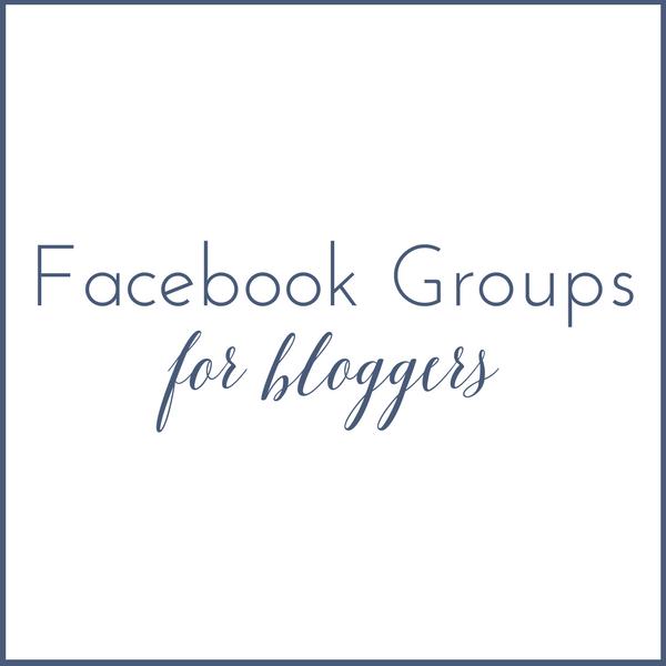 Facebook Blogging Groups