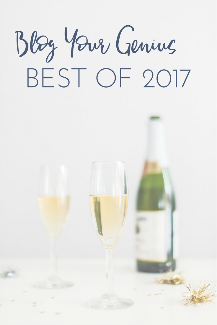 Best of Blog Your Genius 2017 Pinterest